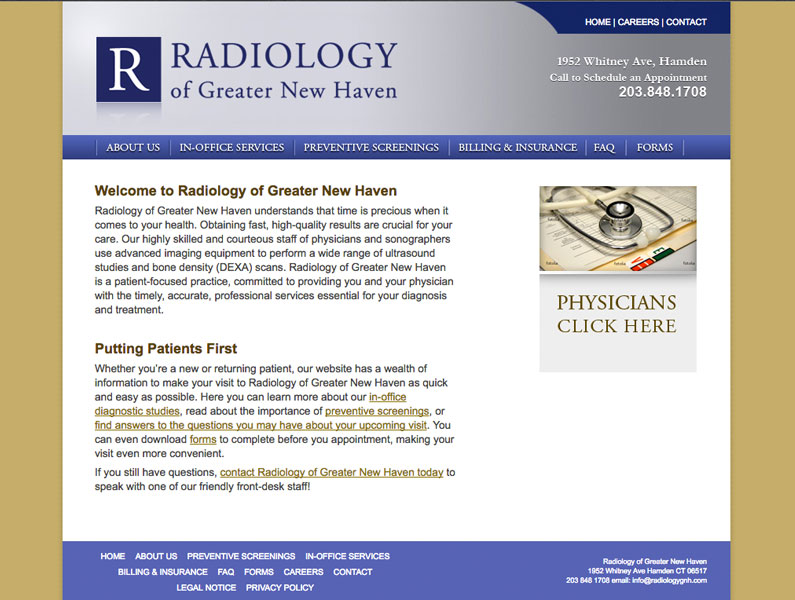 Radiology of Greater New Haven